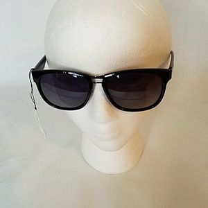 Black & Silver Polarized Sunglasses UV400